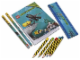 Gear No: 851954  Name: Stationery Set, Aqua Raiders