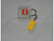 Gear No: 852095a  Name: 2 x 4 Brick - Yellow Key Chain
