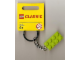 Gear No: 852099a  Name: 2 x 4 Brick - Lime Green Key Chain