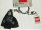 Gear No: 852129  Name: Emperor Palpatine Key Chain with Lego Logo Tile, Modified 3 x 2 Curved with Hole