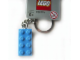 Gear No: 852274  Name: 2 x 4 Brick - Medium Blue Key Chain