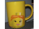 Gear No: 852275  Name: Food - Cup / Mug, Minifig Head Female Pattern