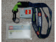 Gear No: 852308  Name: Agents ID Card Name Badge on Lanyard with LEGO and Agents Pattern