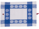 Gear No: 852532  Name: Food - Tea Towel, Minifigure Heads Pattern
