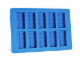 Gear No: 852660  Name: Food - Ice Cube Tray, Bricks (Blue)