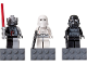 Gear No: 852715  Name: Magnet Set, Minifigures SW (3) - Darth Vader, Snowtrooper, Shadow Trooper - with 2 x 4 Brick Bases