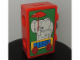 Gear No: 852784  Name: Coin Bank, Duplo Brick 1 x 2 with Circus Elephants Pattern (Glazed Image)
