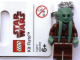 Gear No: 852945  Name: Kit Fisto Key Chain