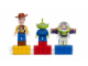 Gear No: 852949  Name: Magnet Set, Minifigs Toy Story (3) - Woody, Alien, Buzz Lightyear - with 2 x 4 Brick Bases