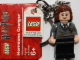 Gear No: 852956  Name: Hermione Gryffindor Crest Key Chain with Lego Logo Tile, Modified 3 x 2 Curved with Hole