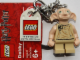 Gear No: 852981  Name: Dobby Key Chain with Lego Logo Tile, Modified 3 x 2 Curved with Hole