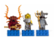 Gear No: 853087  Name: Magnet Set, Minifigs Atlantis (3) - Lobster Guardian, Hammerhead Guardian and Captain Ace Speedman - Glued with 2 x 4 Brick Bases
