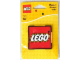 Gear No: 853148  Name: Magnet Flat, Lego Logo - Red Square