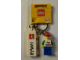 Gear No: 853308  Name: I Brick Hawaii Minifigure Key Chain, Ala Moana LEGO Store, Honolulu, HI