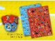 Gear No: 853355  Name: Gift Wrap & Tags, Collectible Minifigures and Holiday Pattern