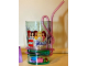 Gear No: 853395  Name: Food - Cup / Mug, Friends Pattern Plastic Tumbler with Pink Straw