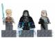 Gear No: 853419  Name: Magnet Set, Minifigs SW (3) - Luke Skywalker, Emperor Palpatine, General Veers - Glued with 2 x 4 Brick Bases