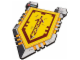 Gear No: 853506  Name: Shield, Nexo Knights Knight's Shield