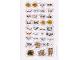 Gear No: 853528stk01  Name: Sticker, Nexo Knights Monsters Sketch Book - Sheet 1