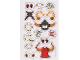 Gear No: 853528stk02  Name: Sticker, Nexo Knights Monsters Sketch Book - Sheet 2