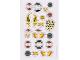 Gear No: 853528stk04  Name: Sticker, Nexo Knights Monsters Sketch Book - Sheet 4
