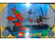 Gear No: 8586121  Name: Display Assembled Set, Atlantis Sets 8075 and 8058 in Plastic Case with Electronics