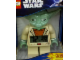 Gear No: 9003080  Name: Digital Clock, SW Yoda Figure Alarm Clock