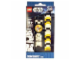 Gear No: 9004339  Name: Watch Set, SW Stormtrooper, Yellow, Black and White Links