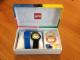 Gear No: 9007637  Name: Watch Set, Classic Adult's Lego Fan Club, Black / Yellow