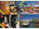 Gear No: 920162  Name: Postcard - Various Theme Postcards, Sheet of 4 - Town, Space, Castle