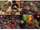 Gear No: 921751  Name: Postcard - Various Theme Postcards, Sheet of 4 - Duplo, Harbour, Trains, Blacktron II