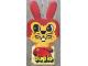 Gear No: 921813  Name: Display Sign Hanging, Duplo Bunny / Rabbit Head with Whiskers, Double-Sided