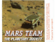 Gear No: 9736stk01  Name: Sticker, Mars Team Interplanetary Society display (set 9736)