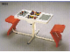 Gear No: 9804  Name: Playtable with Two Bins, 2 Seats and Two Building Plates