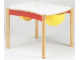 Gear No: 9809a  Name: Multi-Playtable for 2 Children (white top)