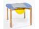 Gear No: 9809b  Name: Multi-Playtable for 2 Children (medium blue top)