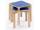 Gear No: 9817a  Name: LEGO Stools for Multi Table (medium blue top)
