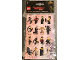Gear No: B51951  Name: Sticker, The LEGO Ninjago Movie, Set of 4 Sheets