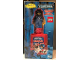 Gear No: Bathbottle5  Name: Bath and Shower Foam, Bottle with Aquanaut Minifigure Blue