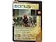 Gear No: BioGMC213  Name: Bionicle Great Mask Challenge Game Card 213