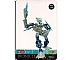 Gear No: BioLAM064  Name: Bionicle Lamincard  64