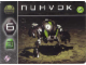 Gear No: BioMc02.12  Name: Bionicle The Bohrok Awake Card - Nuhvok 12