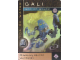 Gear No: BioMc02.17  Name: Bionicle The Bohrok Awake Card - Gali 17