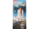 Gear No: Cit15SpcBan1  Name: Display Flag Cloth, City Space Utility Shuttle and Spaceport