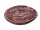 Gear No: Coin30  Name: Pressed Penny - Minifig Speedboat Pattern