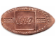 Gear No: Coin41  Name: Pressed Penny - Lego Logo and Two 2 x 4 Bricks Pattern (1st Edition Book)