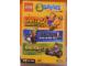 Gear No: DCG902859  Name: 3 LEGO PC Games (Insel 2 - Rock Raiders - Racers) (German Version)