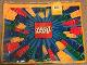Gear No: DP0100-700  Name: Tote Bag, Lego Logo and Radiating Bricks Pattern