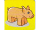 Gear No: DPLC01  Name: Duplo Picture Lottery Game Card, Farm Pig