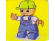 Gear No: DPLC02  Name: Duplo Picture Lottery Game Card, Farm Boy